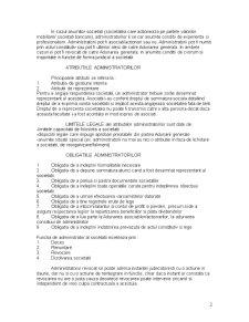 Functionarea Societatii Comerciale. Reguli Comune - Pagina 2