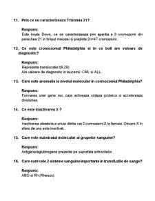 Intrebari Genetica Examen Titu Maiorescu - Pagina 3