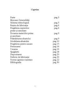 Paste Făinoase - Pagina 1