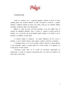 Plan de Comunicare - Pagina 1