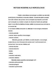 Metode Moderne Ale Merceologiei - Pagina 1