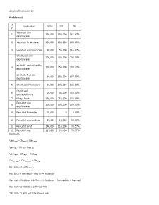 Analiza Financiara - Pagina 1