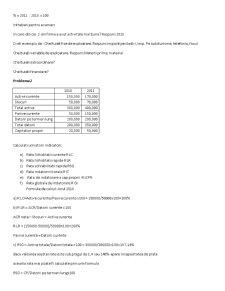Analiza Financiara - Pagina 2