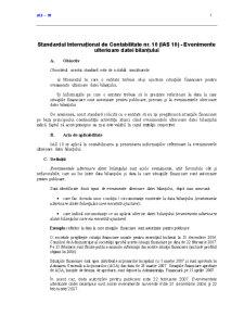 Standardul International de Contabilitate 10 - Pagina 1