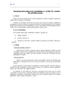 Standardul International de Contabilitate  18 - Pagina 1