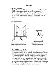 Cristalizarea și Sublimarea - Pagina 1