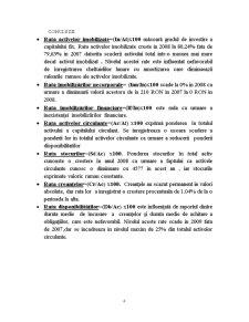 Analiza Financiara la Firma SC Tonny Trans SRL - Pagina 4