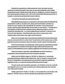 Drepturi de Proprietate Privata - Pagina 3