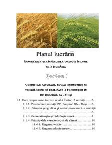 Tehnologia de Cultivare a Orzului de Toamna in Conditiile Ecologice de la SC Zooprod SA Husi - Pagina 2