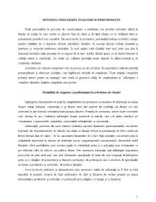 Sistemul Fidelizării - Pagina 1