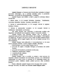 Amine Biogene - Pagina 1