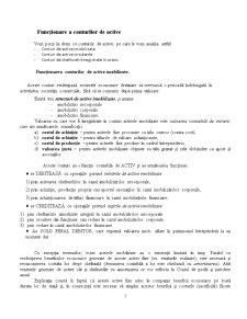 Funcționarea Conturilor de Active - Pagina 1