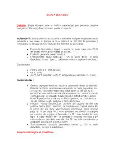 Boala Hodgkin - Pagina 1