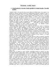 Moneda, Credit, Banci - Pagina 1