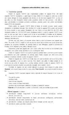 Asigurarea Autovehiculelor - Pagina 1