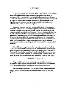 Structura Benzenului si Starea Aromatica - Pagina 1