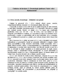 Deontologie AN II - Pagina 1