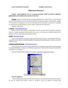 Baze de Date - Pagina 1