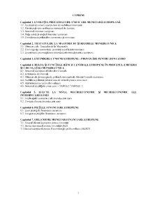 Economie Monetară și Financiară Europeană - Pagina 2