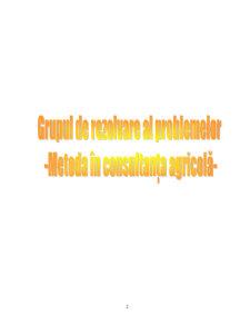 Metoda in Consultanta Agricola - Pagina 2