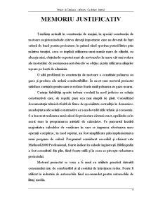 Proiect de Diplomă - Motoare cu Ardere Internă - Pagina 5