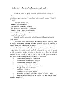 Auditul unui Sistem Informatic - Pagina 2