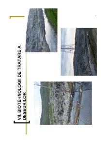 Biotehnologii de Tratare a Deseurilor - Pagina 1
