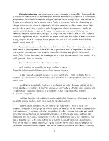 Biologie Moleculara si Celulara - Pagina 1
