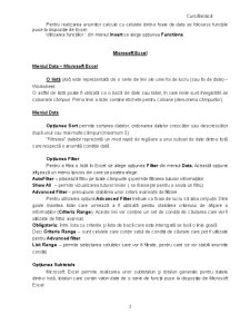 Microsoft Excel - Incepatori - Pagina 3