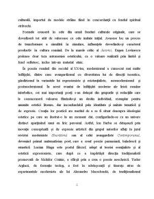 Literatura Romana in Epoca Interbelica - Pagina 2