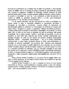Analiza Sectorului Farmaceutic - Studiu de Caz Gedeon Richter România SA - Pagina 4