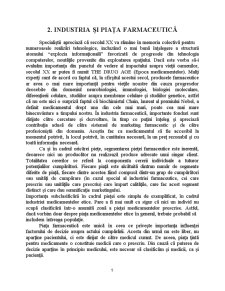 Analiza Sectorului Farmaceutic - Studiu de Caz Gedeon Richter România SA - Pagina 5