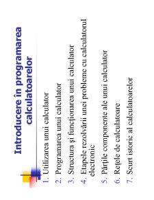 Utilizarea și Programarea Calculatorului - Pagina 1