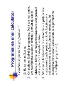 Utilizarea și Programarea Calculatorului - Pagina 4