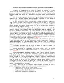 Categorii de Operatori si Contributia Acestora la Gestionarea Capitalului Natural - Pagina 1