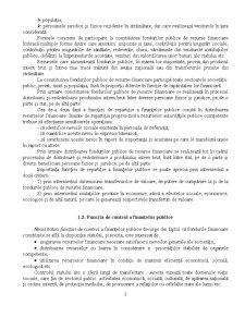 Conținutul Economic și Funcțiile Finanțelor Publice - Pagina 2