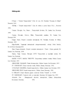 Particularitatile Activitatii de Transport, Caracteristici si Importanta - Pagina 1