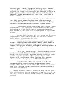 Drept Diplomatic și Consular - Pagina 3