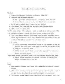 Istoria Mijloacelor de Comunicare la Distanță - Pagina 1