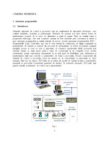 Comanda unei Stații Automate de Spălat Autovehicule cu Automatul Programabil LG Glofa GM7 - Pagina 5