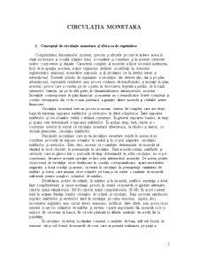 Circulație Monetara - Pagina 2