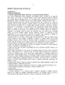 Drept Financiar și Fiscal - Pagina 1