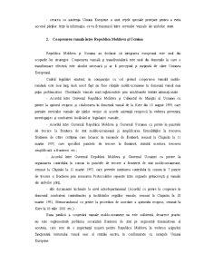 Cooperarea Vamala a Republicii Moldova cu Statele Vecine - Pagina 4