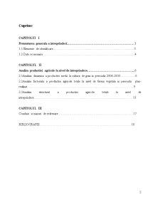 Analiza Cheltuielilor la Intreprinderea Agricola SC Emiliana West Rom SRL - Pagina 2