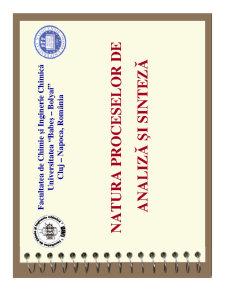 Natura Proceselor de Analiză și Sinteză - Pagina 1