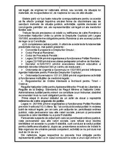 Drepurile Detinutilor Minori - Pagina 2