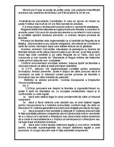 Drepurile Detinutilor Minori - Pagina 4