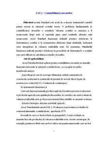 Contabilitatea Stocurilor - Pagina 1