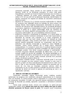 Regulatoare Automate Analogice. Legi de Reglare - Pagina 2