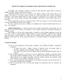 Protectia Mediului si Respectarea Disciplinei in Contructii - Pagina 1
